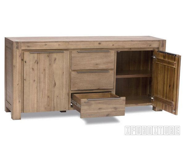 HAMBURG Acacia Side Board Buffet Dining Room NZs Pioneering Online Furniture Shop With