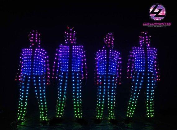 LED Smart Body Screen Artnet WiFi Pixel dance costumes _P17 in 2019