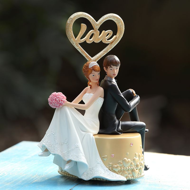 Romantic Wedding Music Box For Women The Bride And Groom