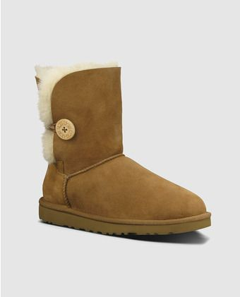 e5846ce9f Botas de mujer UGG en color marrón con doble lazo