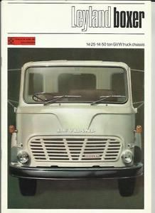BRITISH LEYLAND BMC BOXER TRUCK LORRY SALES BROCHURE LATE 60's