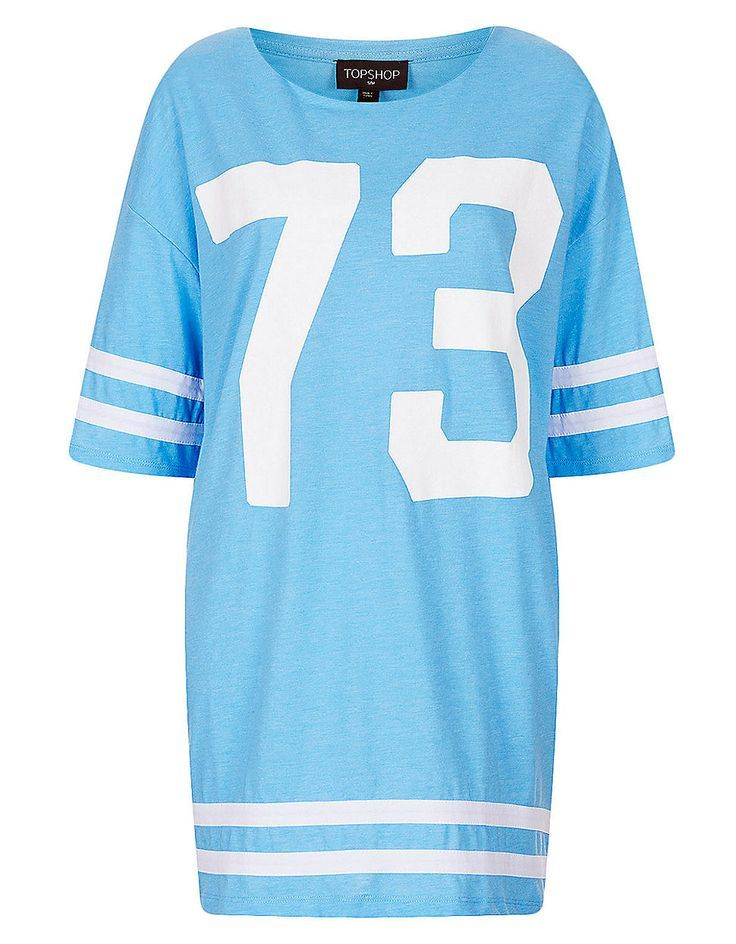 Sport inspired style is perfect for Spring! This baby blue stunner from Topshop will be right at home in our closet