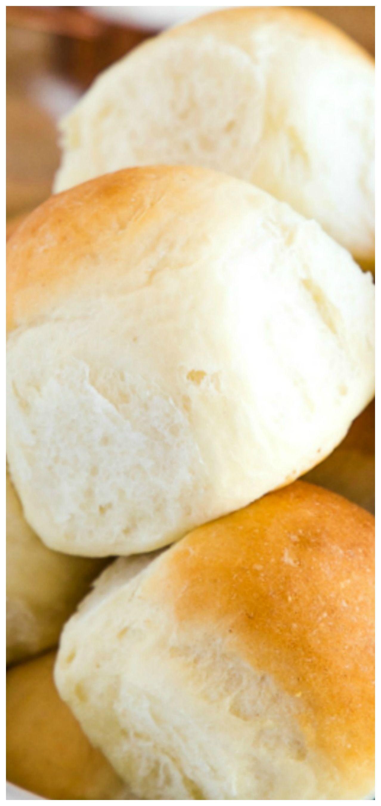 Easy Homemade Classic Buttermilk Buns Dinner Rolls The Busy Baker Recipe Homemade Buns Buttermilk Recipes Dinner Rolls