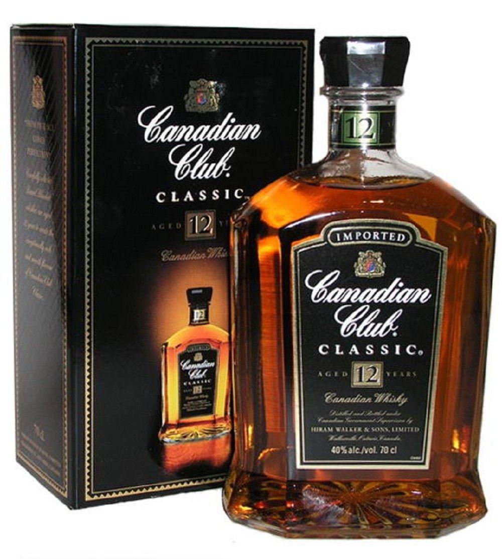 Canadian Club Classic Bourbon liquor, Liquor, Bourbon