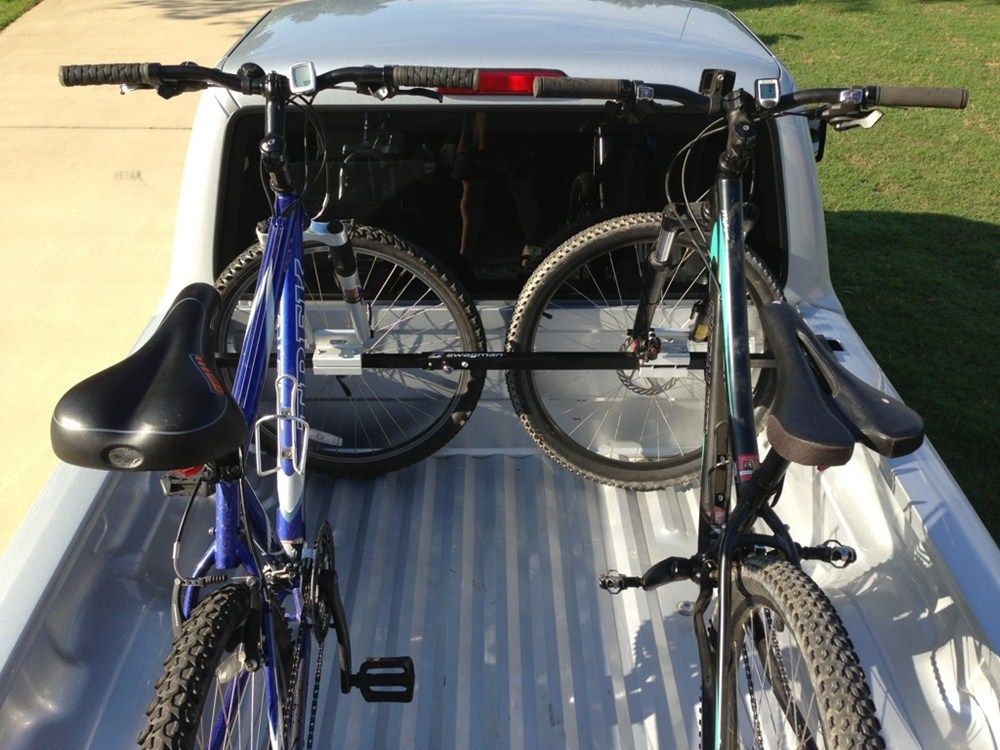 Swagman Pick Up Truck Bed Mounted 2 Bike Carrier Locking