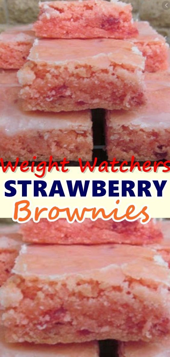 Pin on Summer recipes These brownies are for strawberry lovers! Strawberry Brownies are best served with vanilla ice cream, freshly whipped whip cream, fresh strawberries, and even strawberry sauce for drizzling. This recipe is perfect for any summer potluck,...