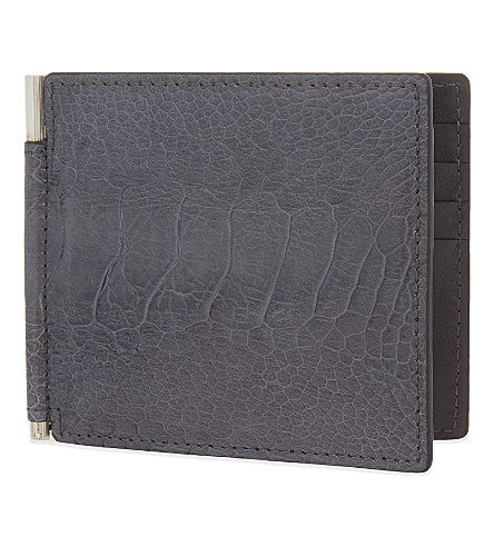 TOM FORD Ostrich Leather Billfold Wallet. #tomford #bags #leather #wallet #accessory
