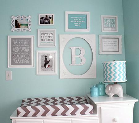 Modern Nursery Trend Watch Gray Teal Baby Boy Rooms Nursery