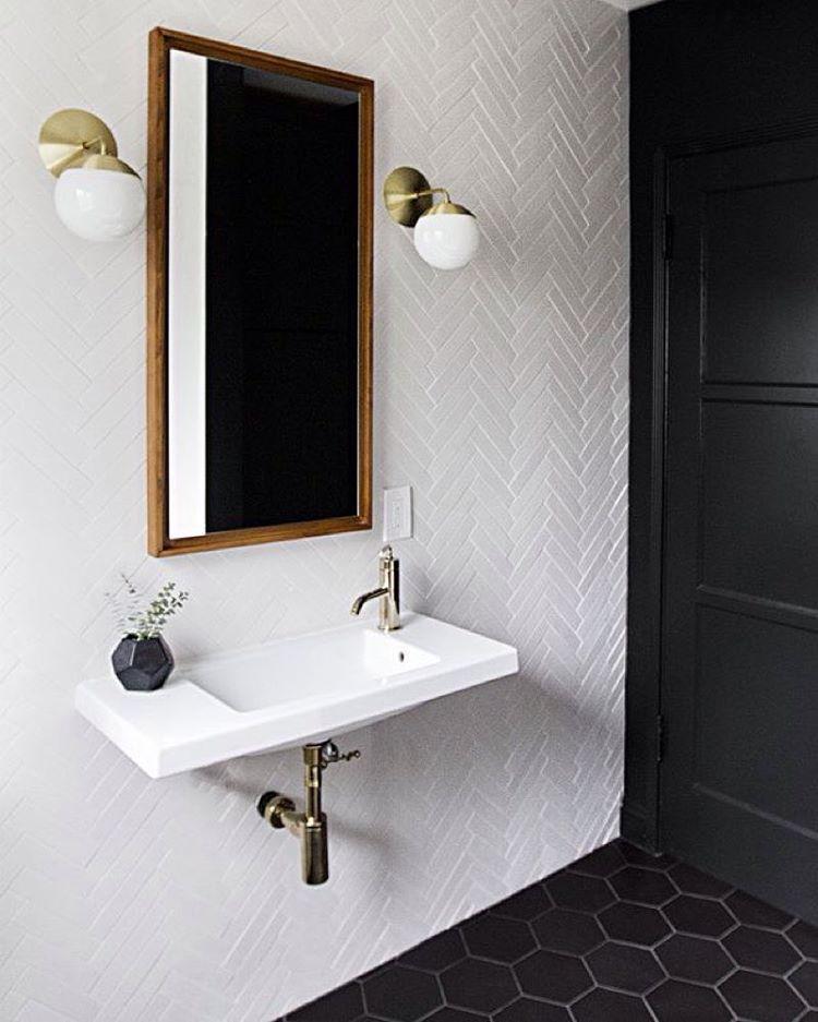 2d5b2dfeb4345 Bathroom tiles   санузел   Pinterest   Decoração e design para casa ...