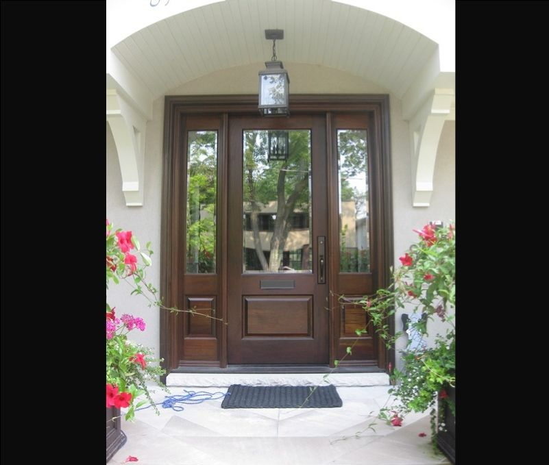 36 Entry Door With Sidelights Exterior Doors Side Light Entry