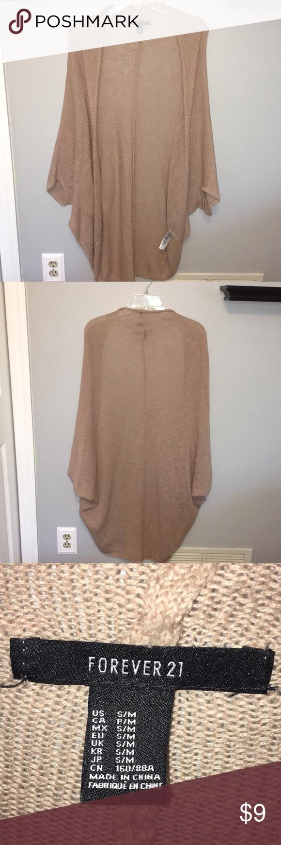 Loose Shrug Forever 21 Sweater