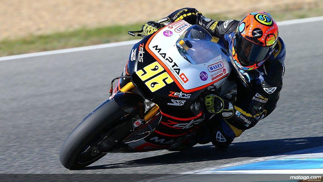96 Louis Rossi, Maptaq SAG Zelos Team - Moto2 Jerez Test 2013