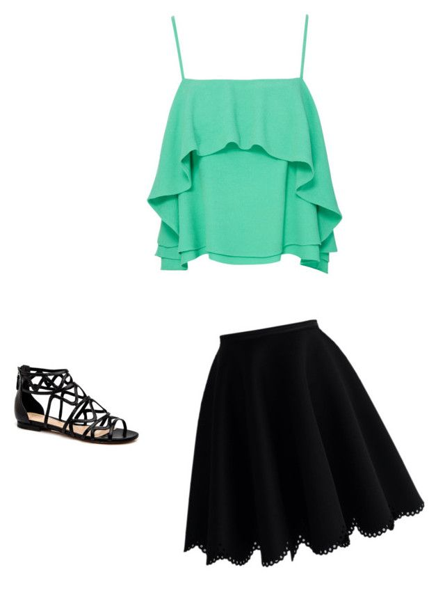 """""""Untitled #30"""" by johnnaargo03 on Polyvore featuring beauty, Apiece Apart and Chicwish"""