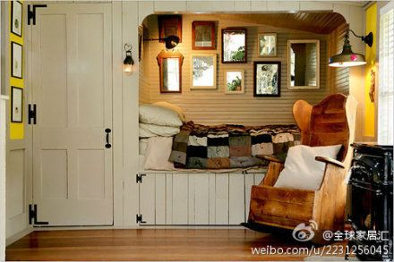 This would be so cozy for a guest house