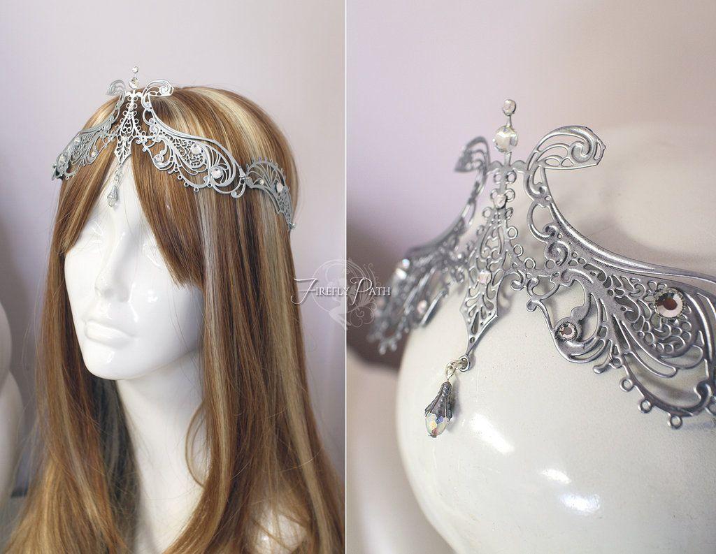 Princess Zelda Wedding Crown By Lillyxandra Deviantart On