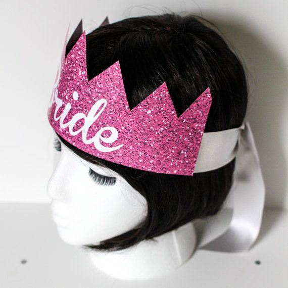 Bachelorette Party Crowns by CreativeUnionDesign #bachelorette #bride #wedding #party