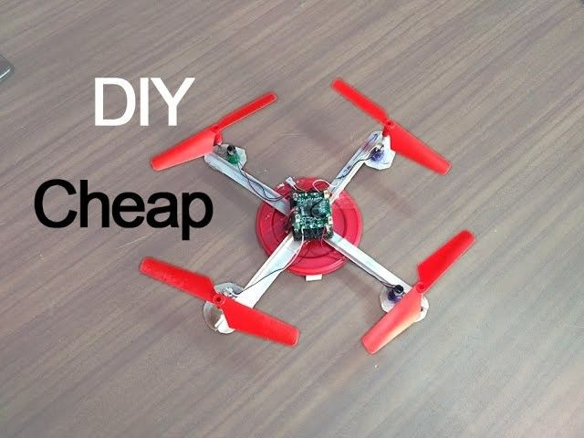 How To Make A Quadcopter At Home Very Easy Diy Drone Quadcopter Free Energy Projects
