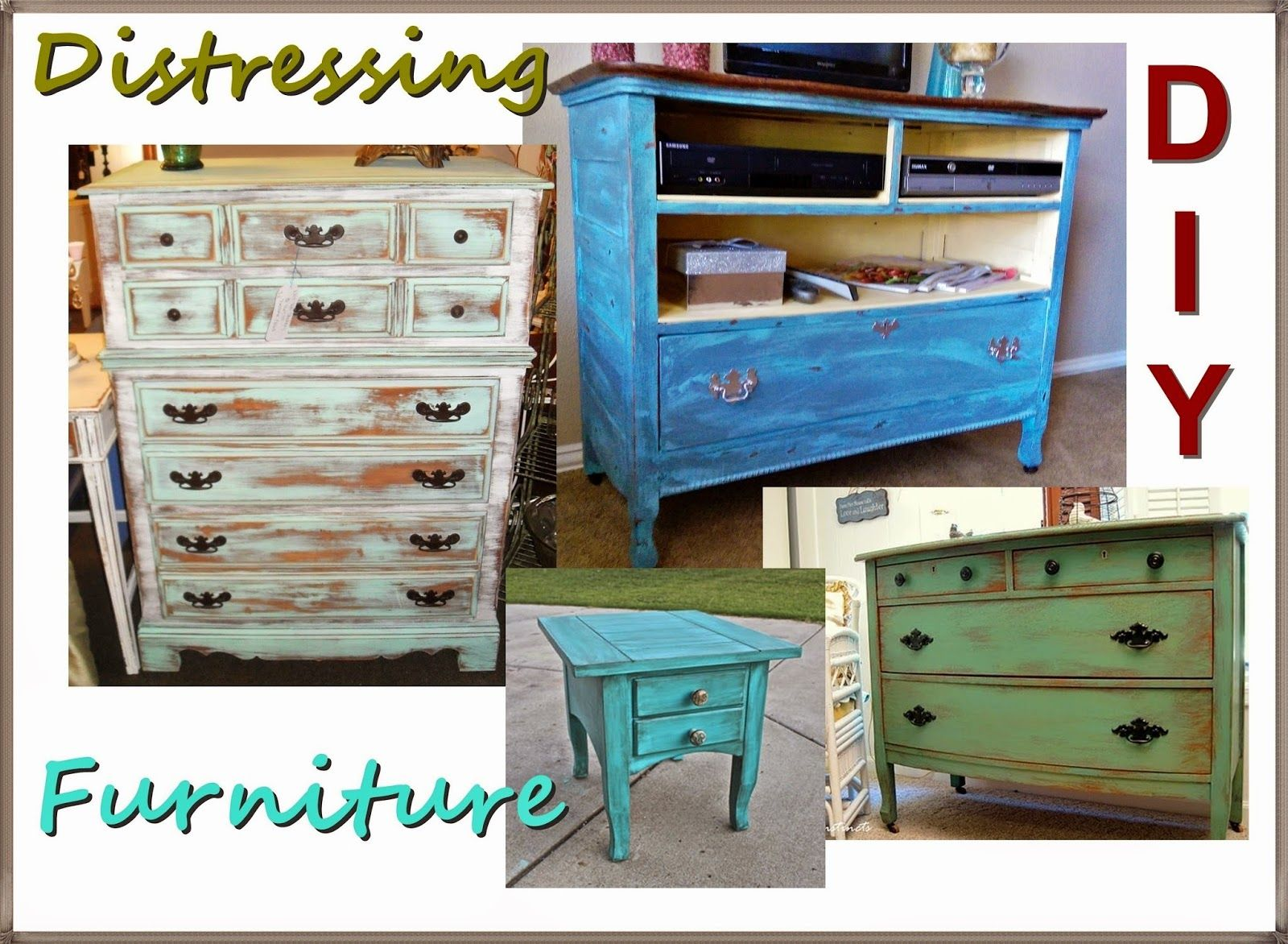 How To Make Furniture Look Old