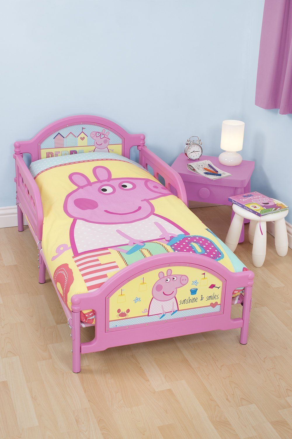 Peppa Pig Bedding Toddler Bed Girl Toddler Bed Frame