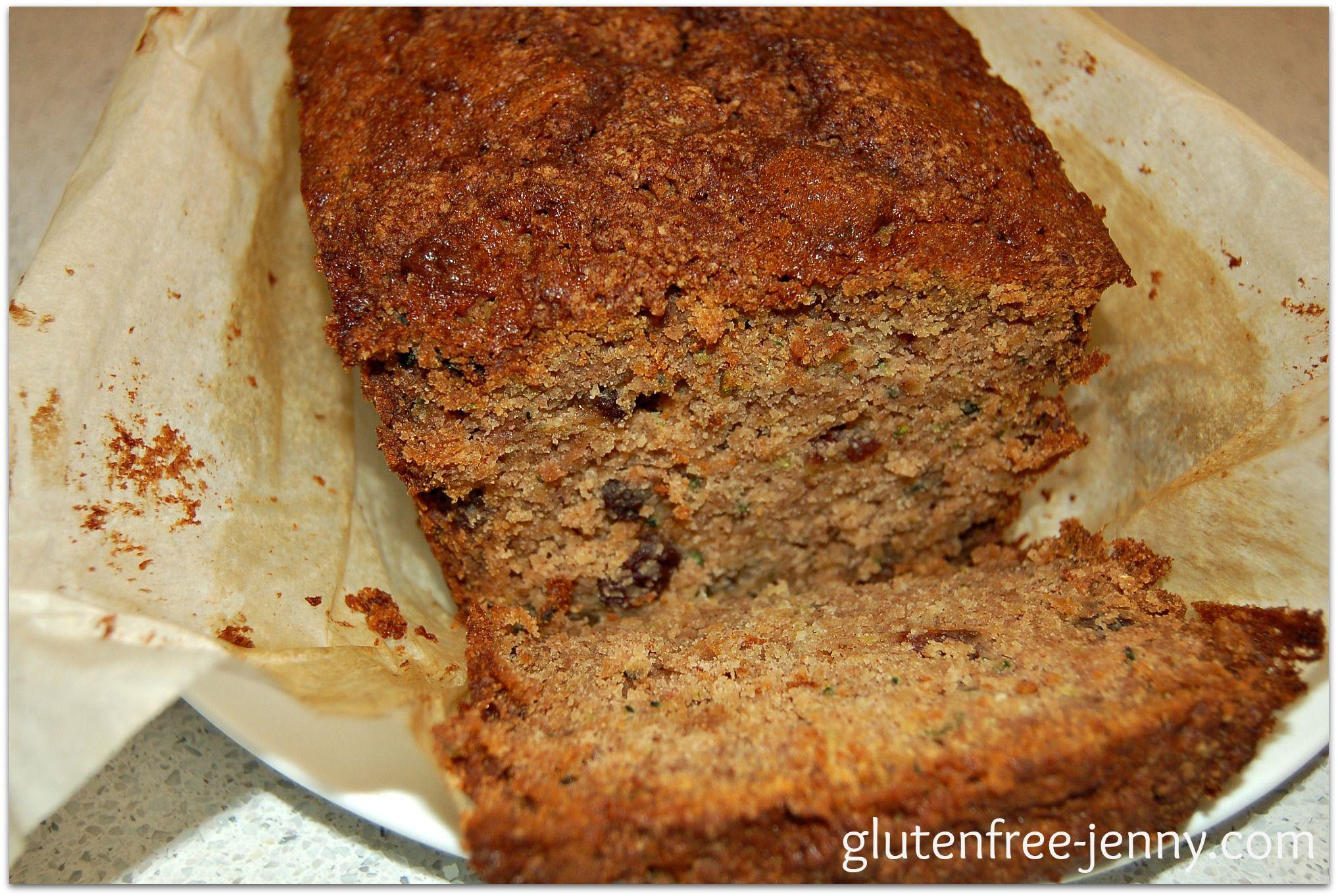 Gluten Free Zucchini Apple Spice Bread | Glutenfree-jenny ...
