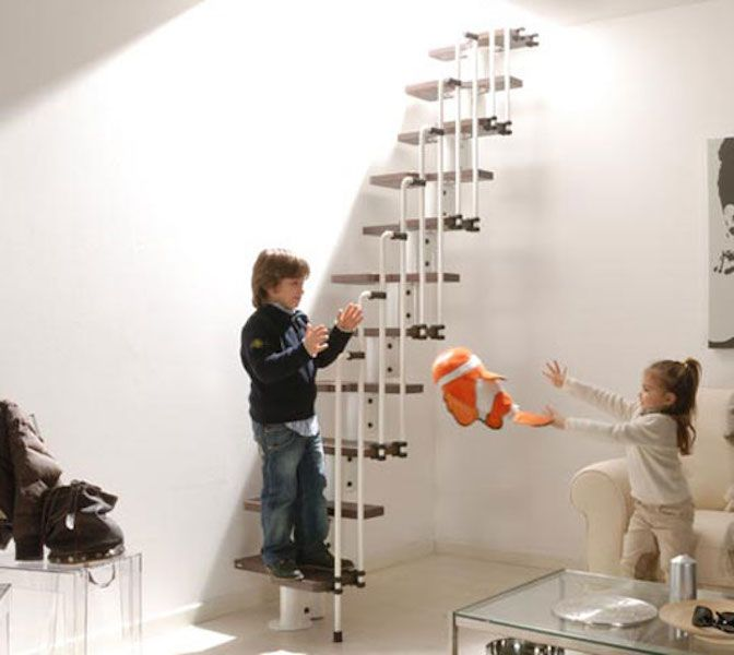 Finding Staircases For Small Spaces