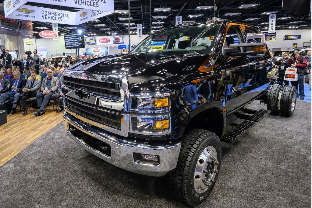 Oh, the Silverado 3500HD? That's cute. Chevrolet is making ...