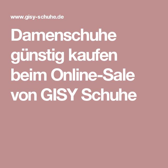 e6446a3a4602c2 Damenschuhe günstig kaufen beim Online-Sale von GISY Schuhe