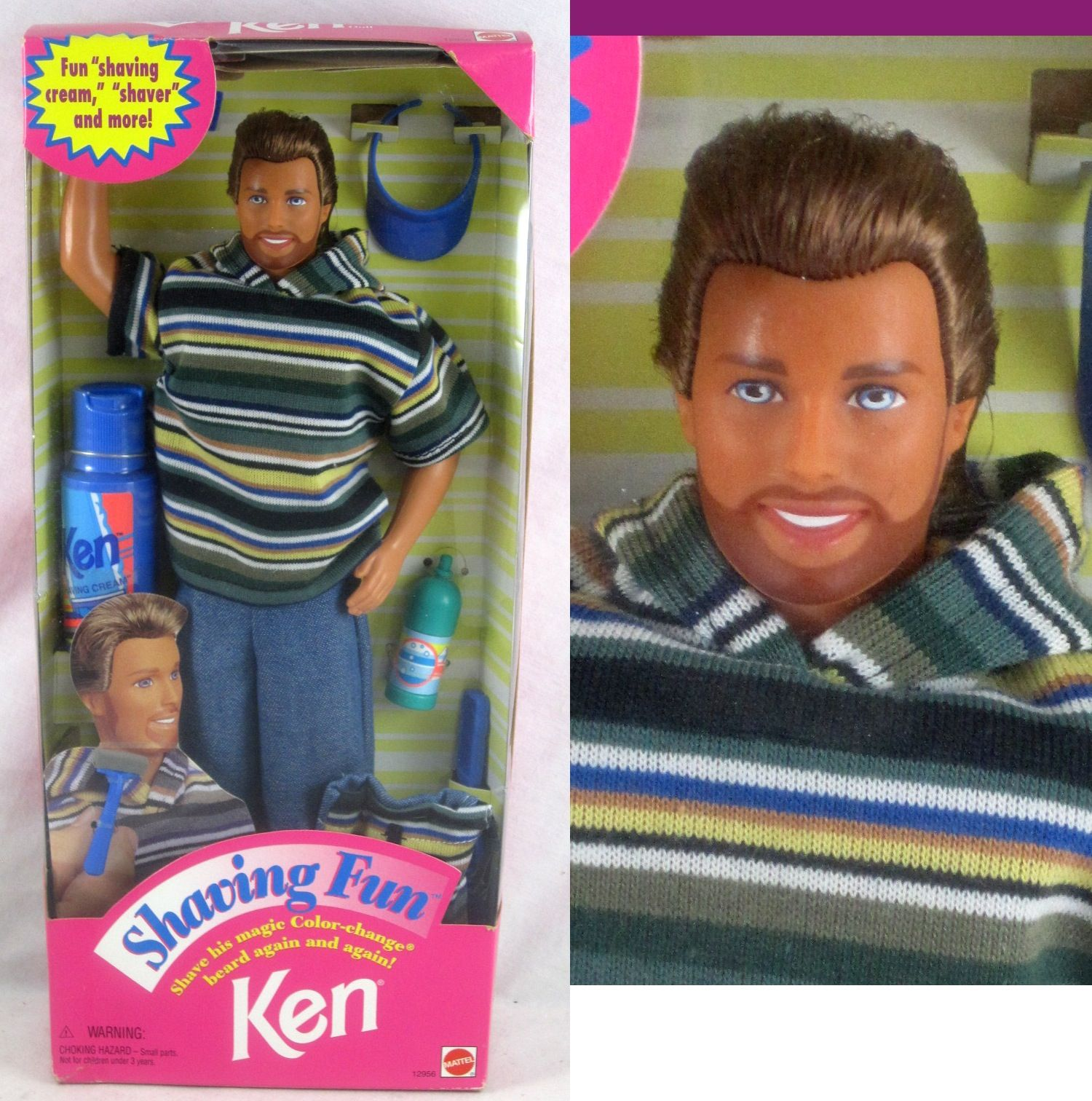 Shaving Fun Ken Doll from Mattel
