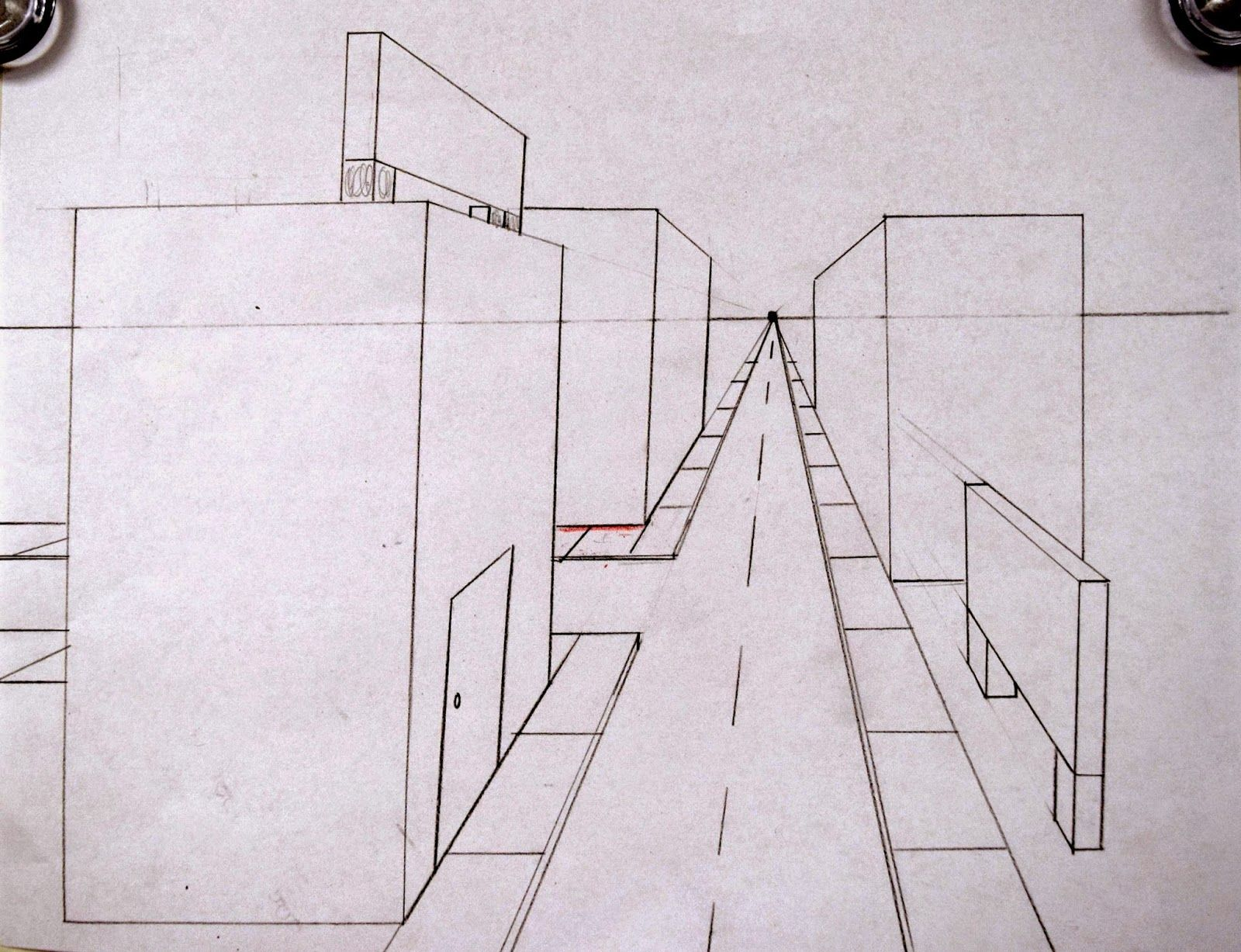 Art With Ms Gram One Point Perspective Streetscapes