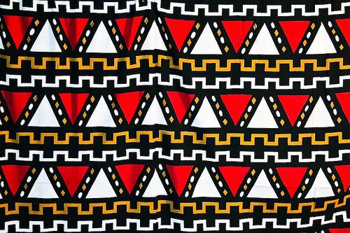 African traditional Pattern.
