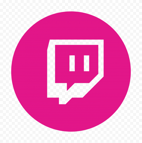 Hd Pink Twitch Tv Round Outline Icon Transparent Png In 2021 Twitch Tv Twitch Icon