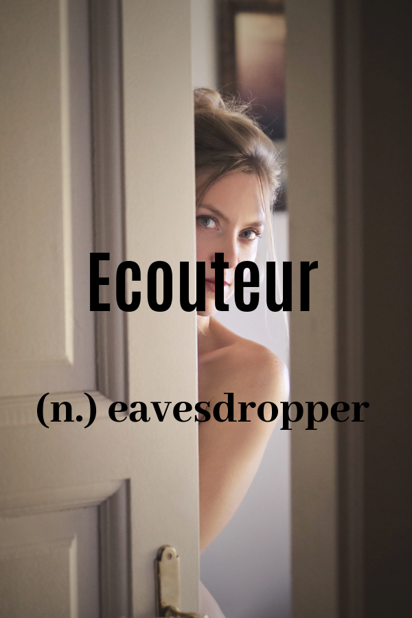 Beautiful, unique French word with meaning  Obscure, rare words and