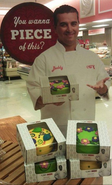 Winn Dixie bakeries now carrying Cake Boss Buddy Valastro cakes