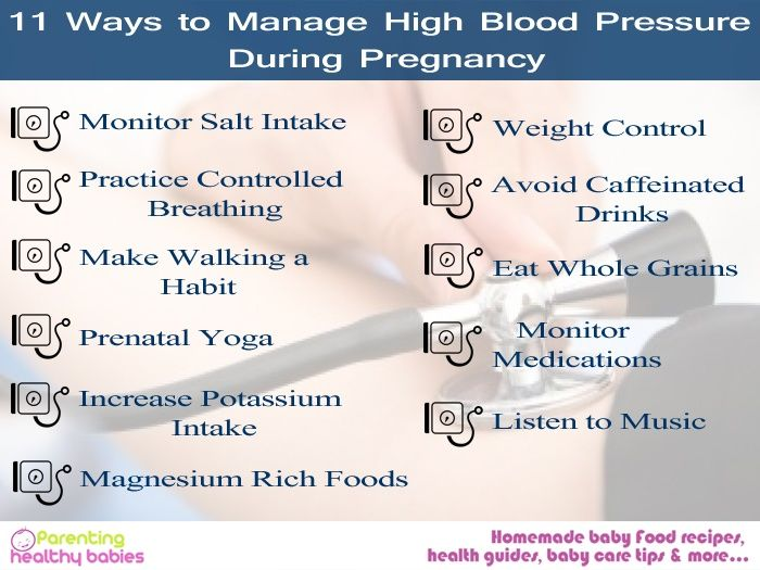 High Blood Pressure For Pregnant Women