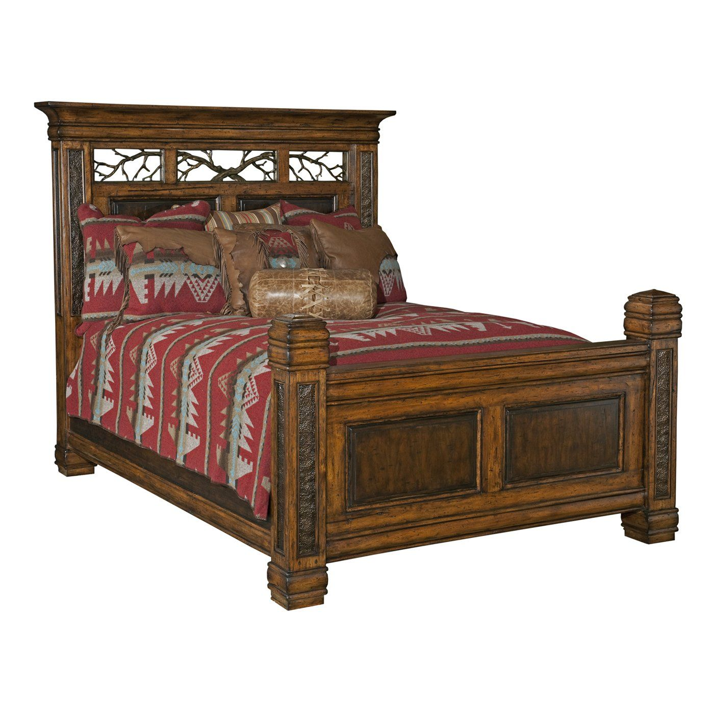 Bed  Shadow Mountain Dick Idol Montana Reflections Panel Bed