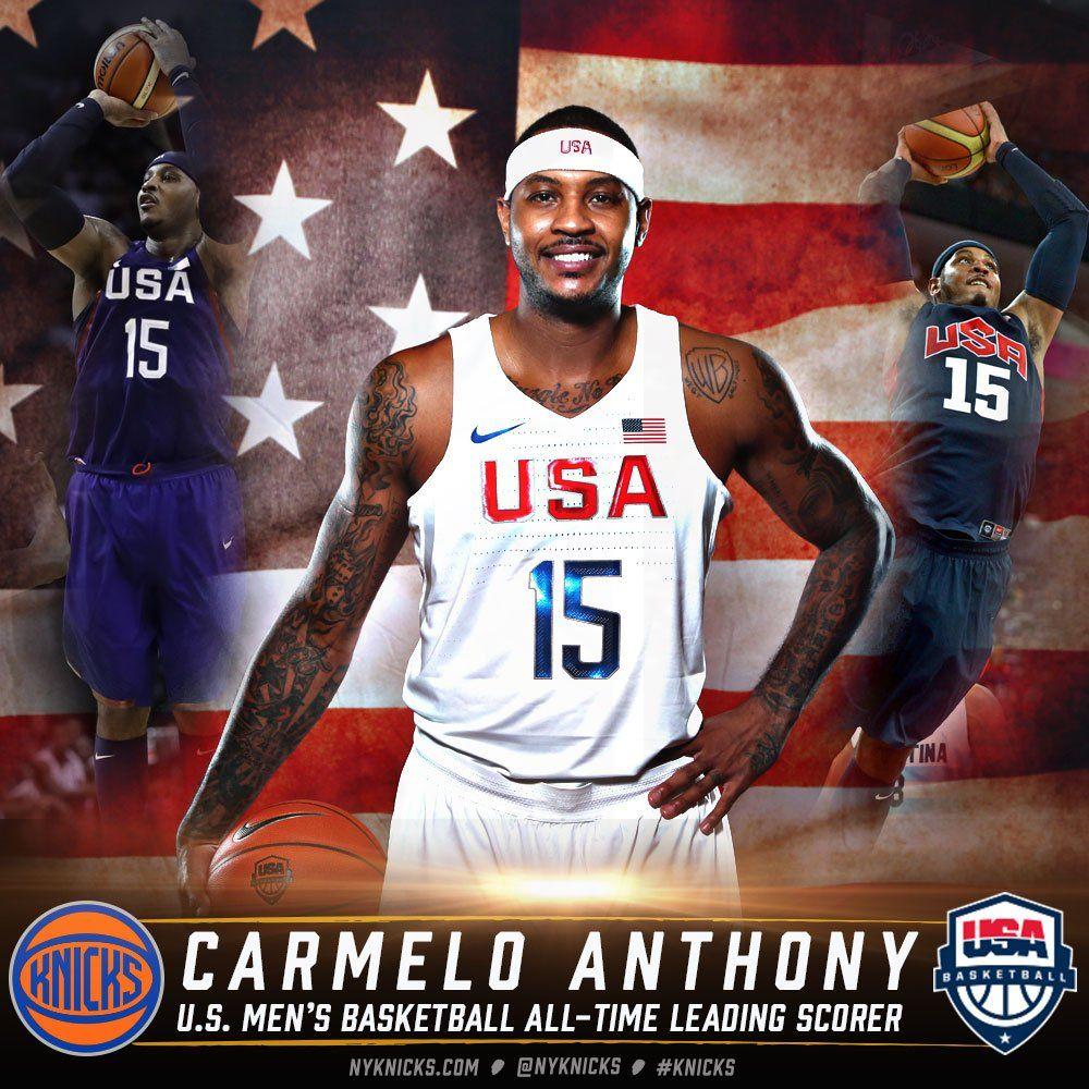 NBC Olympics on Twitter Nbc olympics, Carmelo anthony