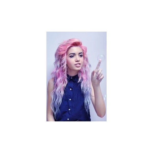 Colorful Hair ❤ liked on Polyvore featuring beauty products and haircare