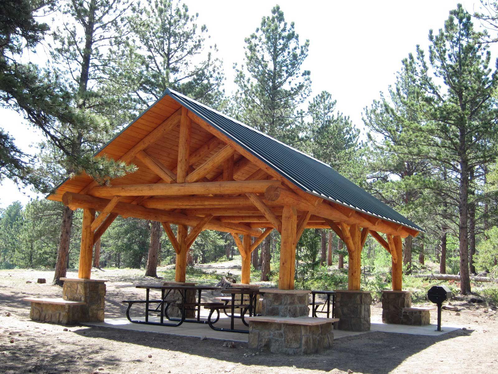 picnic shelter plans | Picnic Shelter Now Open | camp ...
