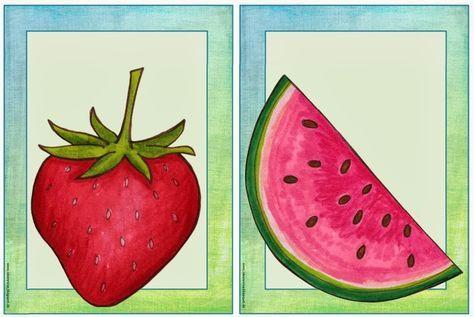 neue flashcards diese woche besch ftigen wir uns im englischunterricht mit dem thema fruits. Black Bedroom Furniture Sets. Home Design Ideas