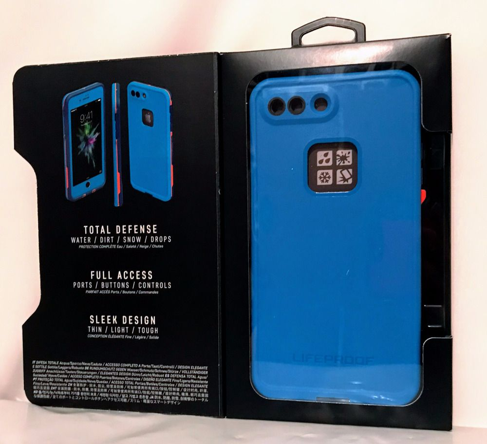 buy popular e01f4 1e539 NEW LIFEPROOF FOR APPLE IPHONE 7 PLUS BASE CAMP BLUE WATERPROOF CASE ...