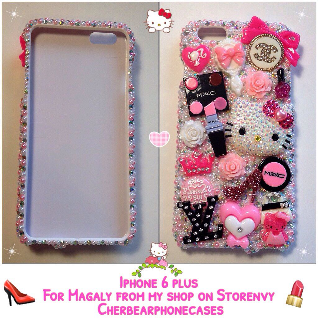 Hello kitty custom case Check out my Instagram gallery