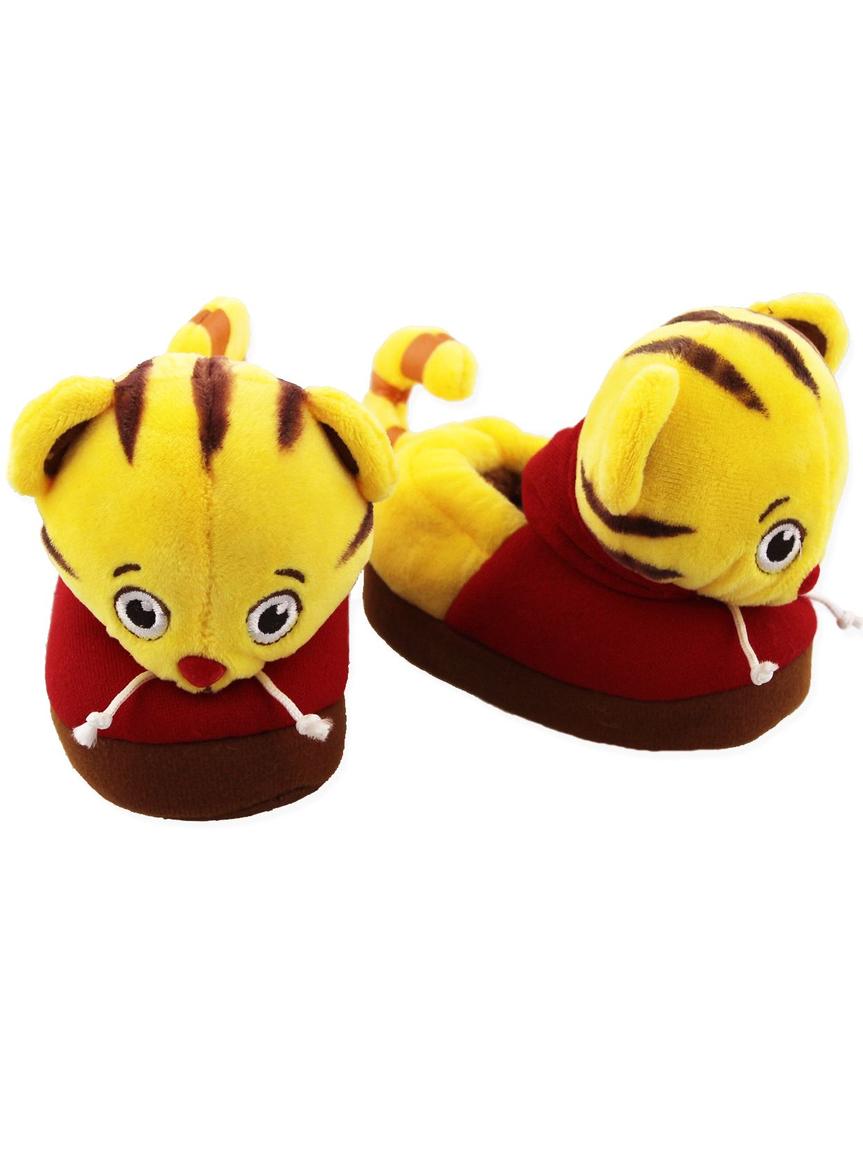 Daniel Tiger Toddler Boys Girls Hooded Plush Fleece Bathrobe Robe K203981DA