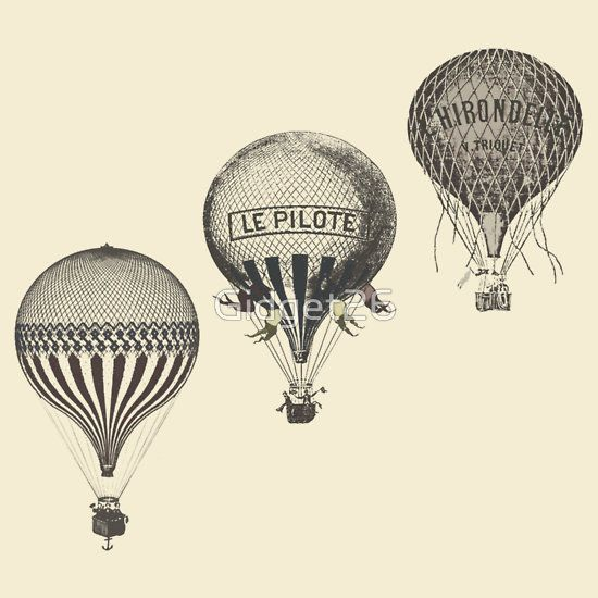 Air Balloons Hot Vintage Gifts  Merchandise  Hot air balloons