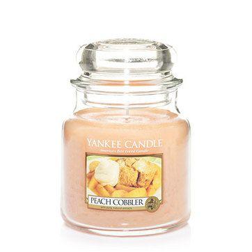 Yankee Candles - Made in USA Peach Cobbler