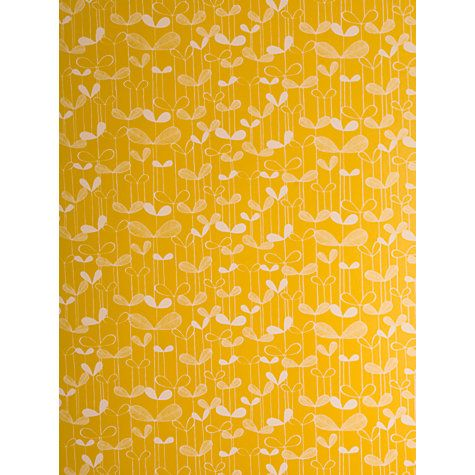 MissPrint Saplings Wallpaper, Yellow, MISP 1009 | New house
