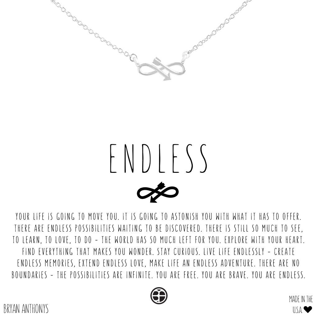2c0b7ef32 Endless Necklace | Rings and things | Friendship necklaces, Arrow ...