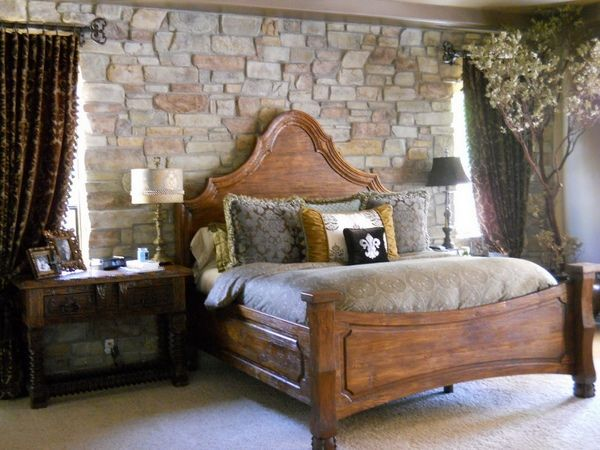 Rustic Wall Decorating Ideas with rustic effect country