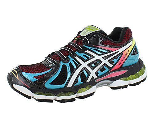 #hot Asics – Womens Running Gel-Nimbus 15 Shoes In Black/White/Light Bl, Size: 6 B(M) US Womens, Color: Black/White/Light Bl