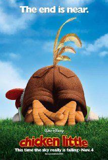 Chicken Little 2005 Netflix Movies For Kids Walt Disney Movies Disney Movie Posters