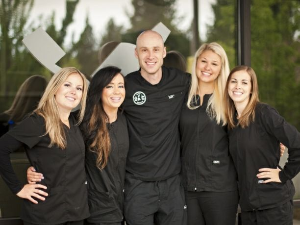 Spokane Dentist Dr Josh Cochran With His Assistants Family Dentistry Dentistry Affordable Dental Implants Comedian josh potter joins nikki and anya marina to chat about getting dissed by smart people the human cockroach josh potter gets to do something special today. pinterest